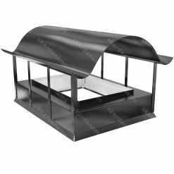 Дымоходная шапка тип 2. Жестяное изделие для крыши.